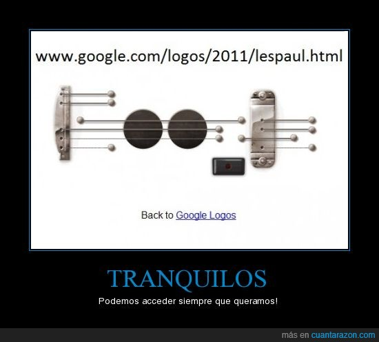 google,guitarra,lespaul