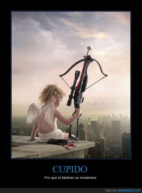 ballesta,Cupido,modernización