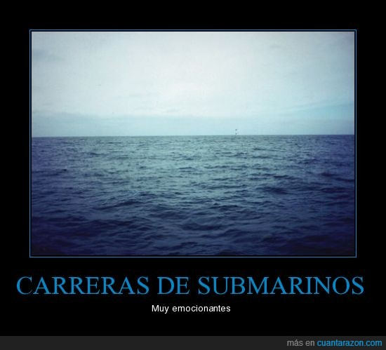 carrera,mar,submarino,ver
