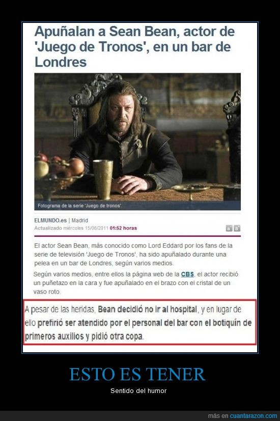 Eddard,Humor,Juego de tronos,Stark