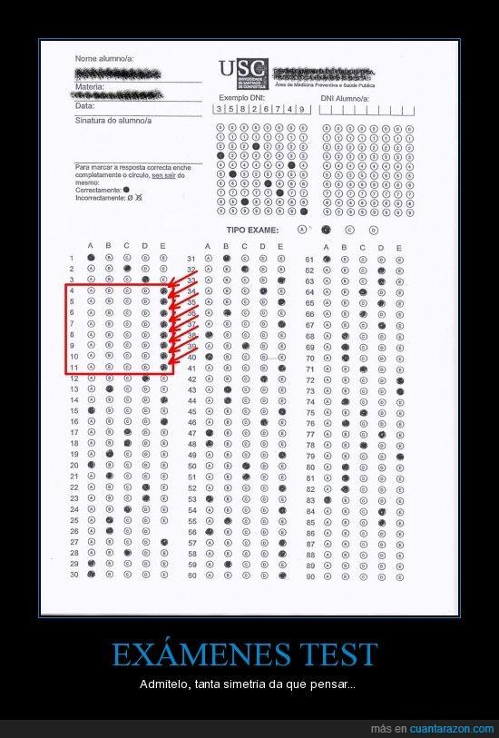 examen,plantilla,respuesta,test