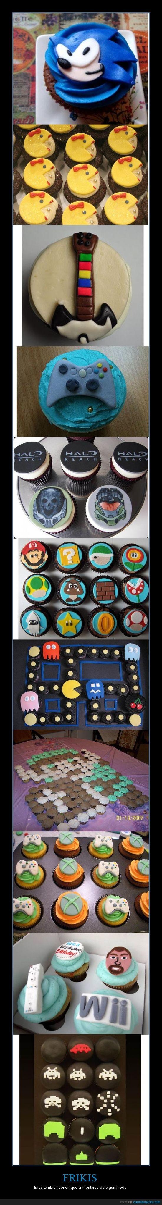 cupcakes,hambre,magdalenas,videojuegos
