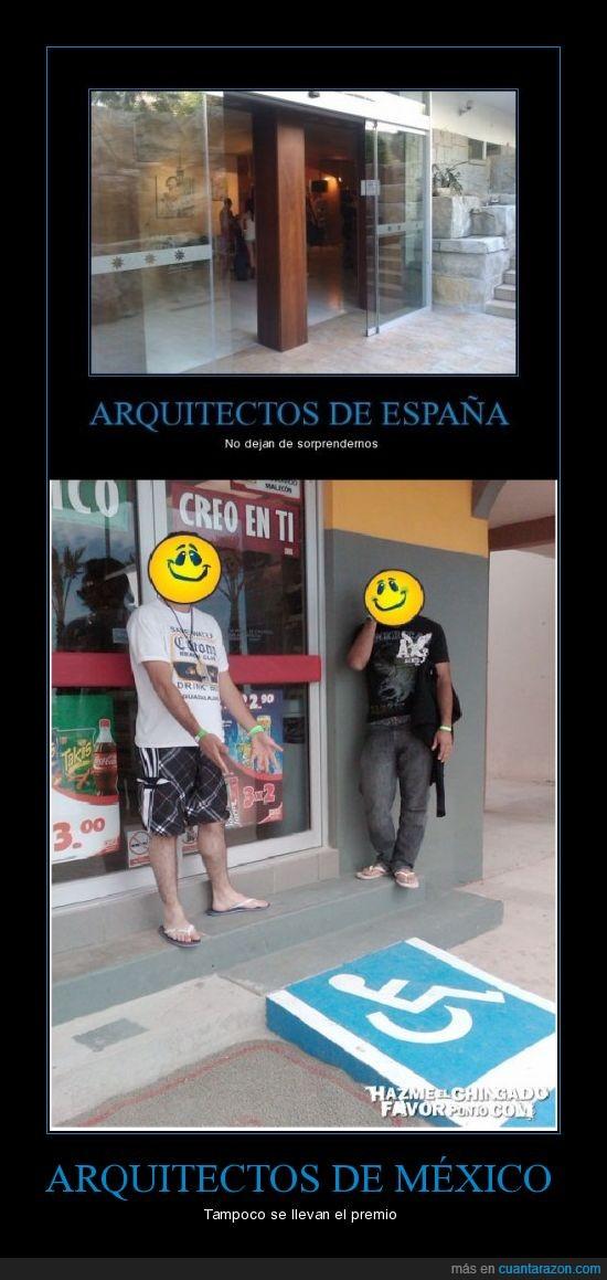 Aquitectos,España,México,Rampa