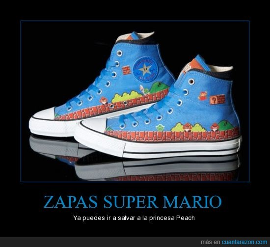 converse,super mario,zapatillas