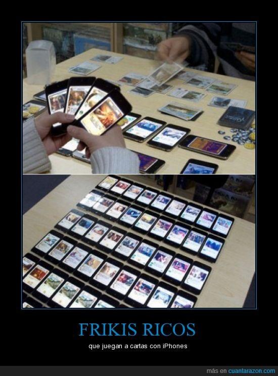cartas,Frikis,Iphone,ipod