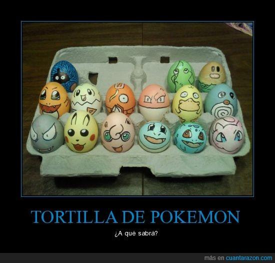 huevos,pokemon