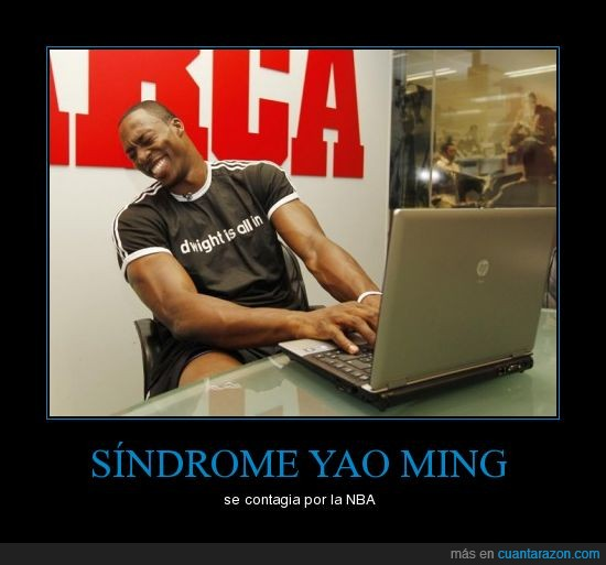dwight howard,is all in,NBA,yao ming