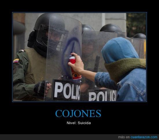 Anarquía,Cojones,Colombia,ESMAD,ley 30,manifestaciones,nivel,protestas,suicida