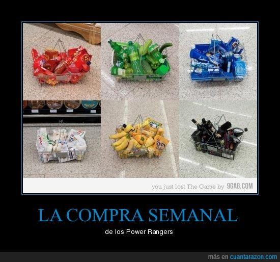 amarillo,azul,blanco,colores,compra,negro,power rangers,rojo,verde
