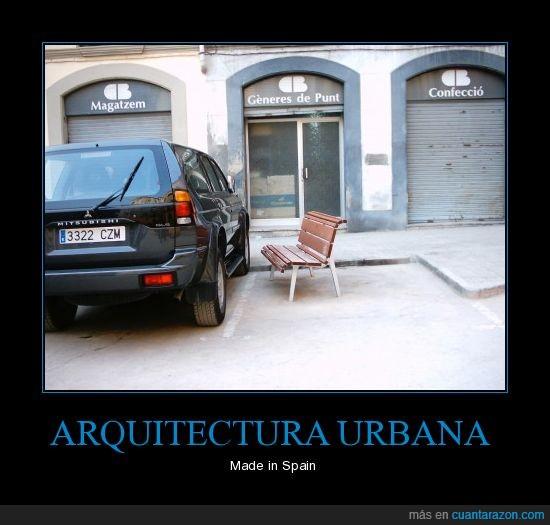arquitectura,banco,coche,fail,spain