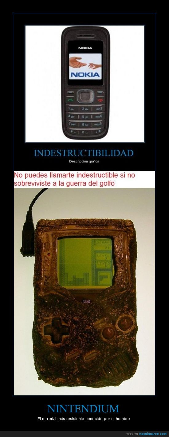 game boy,guerra del golfo,indestructible,nintendo,resistencia