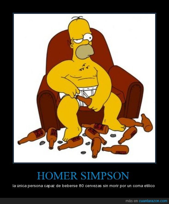 cerveza,homer simpson,morir