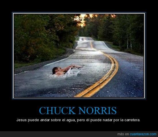 Carretera,Chuck Norris,Jesus,Sobrehumano