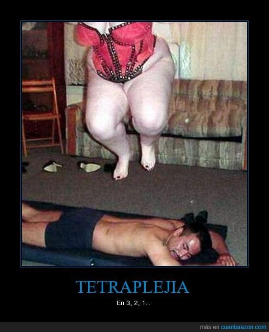 gorda,masaje,tetraplejia