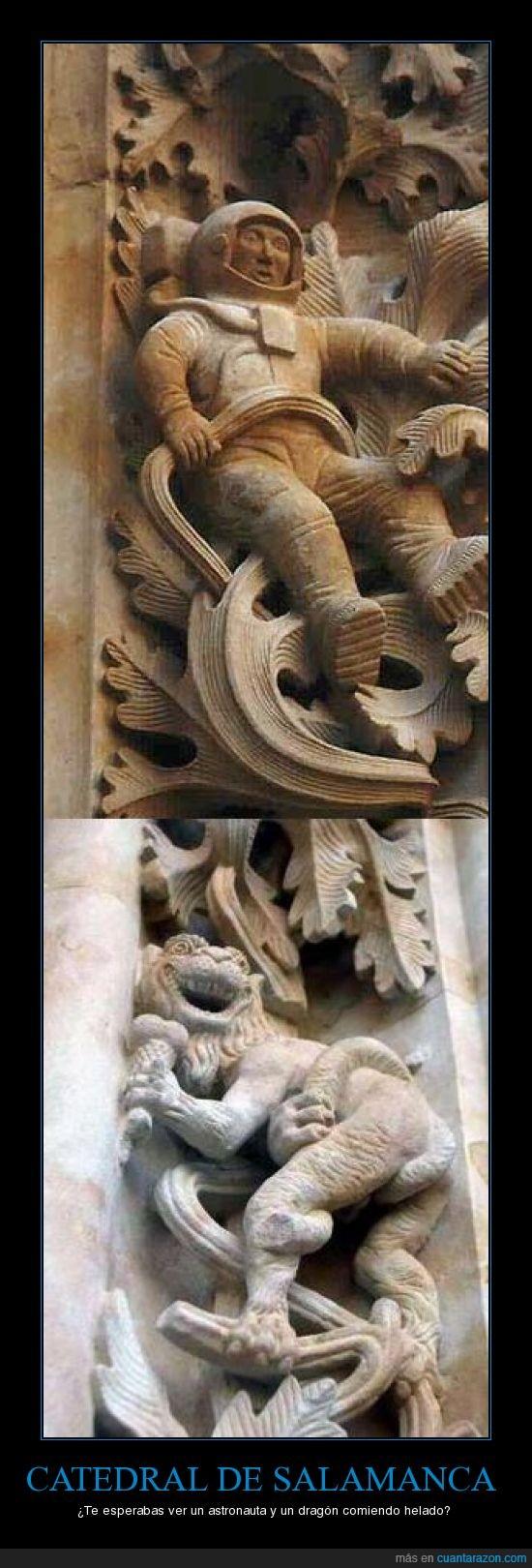 astronauta,catedral,dragon,salamanca