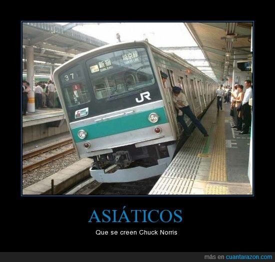 asia,empujar,tren