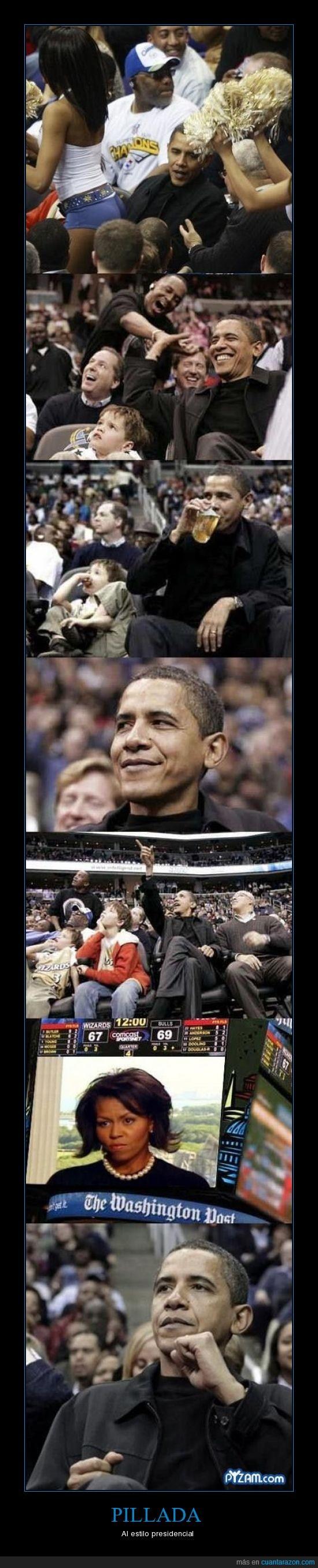 baloncesto,mujer,obama,partido