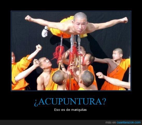 acupuntura,monjes