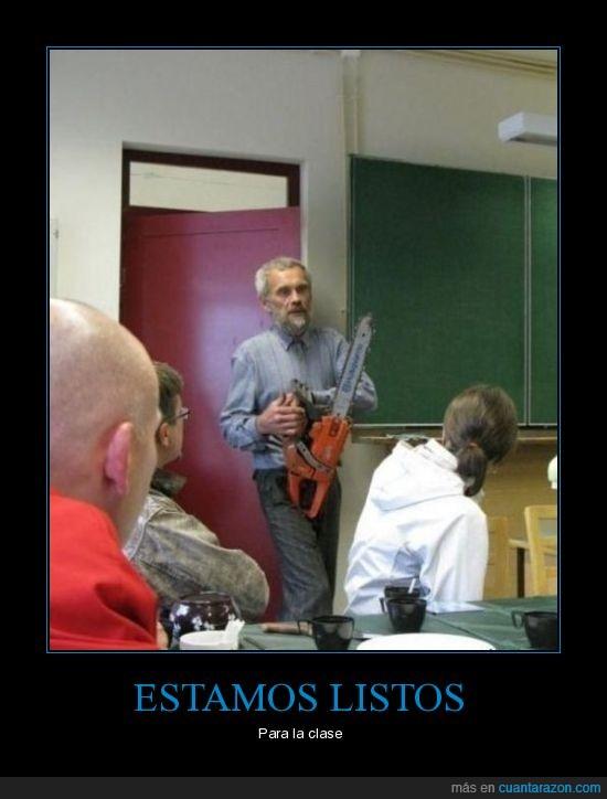 Profesor,Sierra Electrica