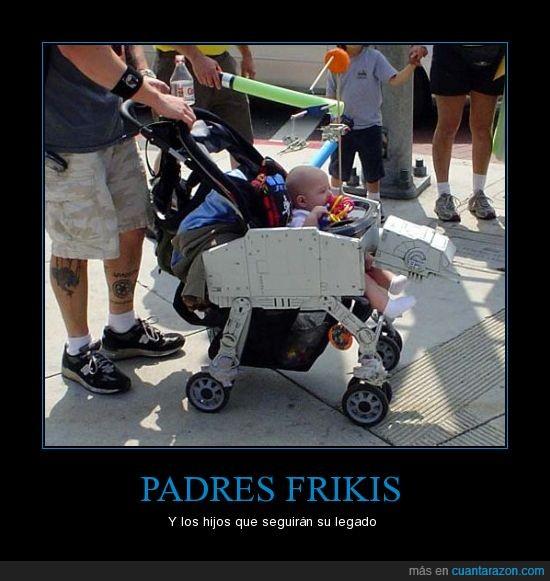 caminante imperial,carrito,friki,geek,padre