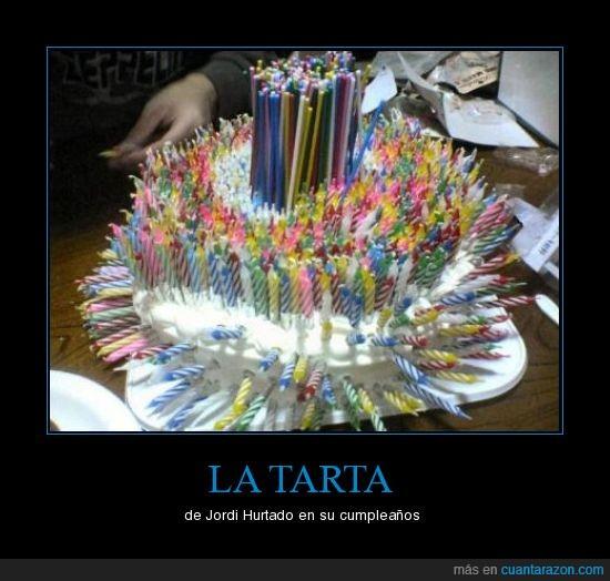 cumplaños,infinitos,inmortal,Jordi Hurtado,tarta,velas