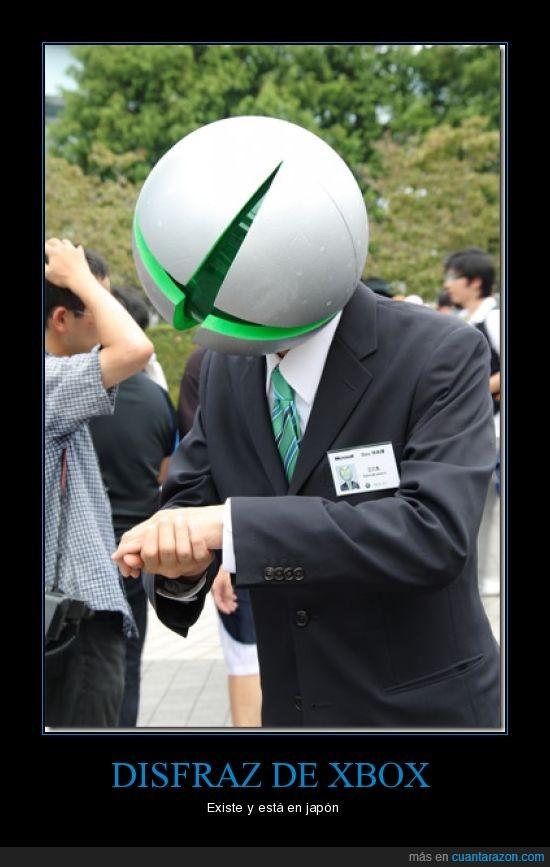 disfraz,japón,mcrosoft,Xbox