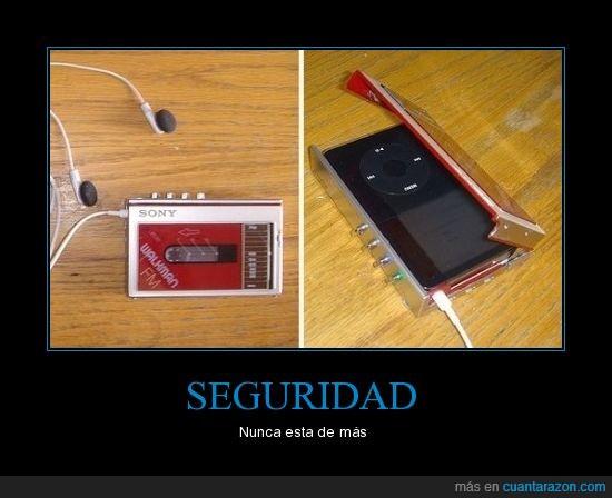 cassette,funda,ipod