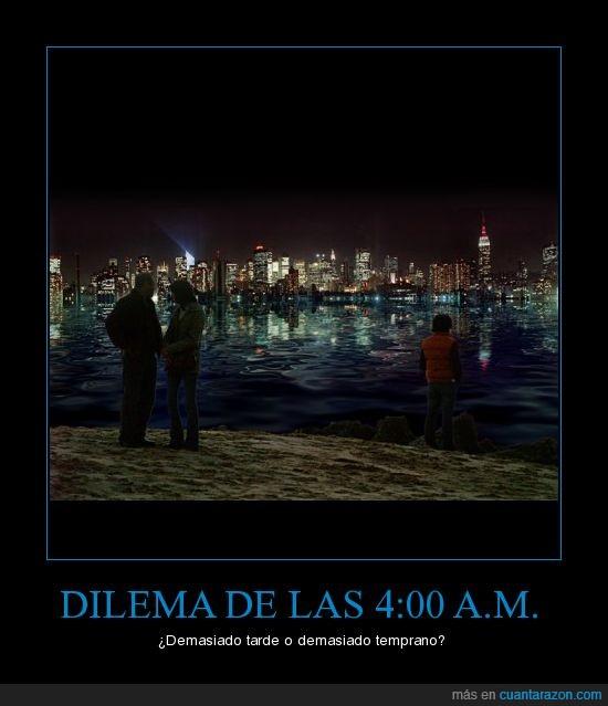hora,madrugada,muerta,tarde,temprano