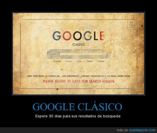 30 días,classic,Google