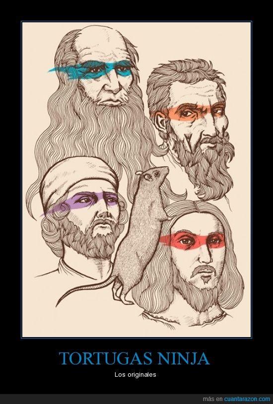 donatello,leonardo,michaelangelo,ninja,rafael,tortugas