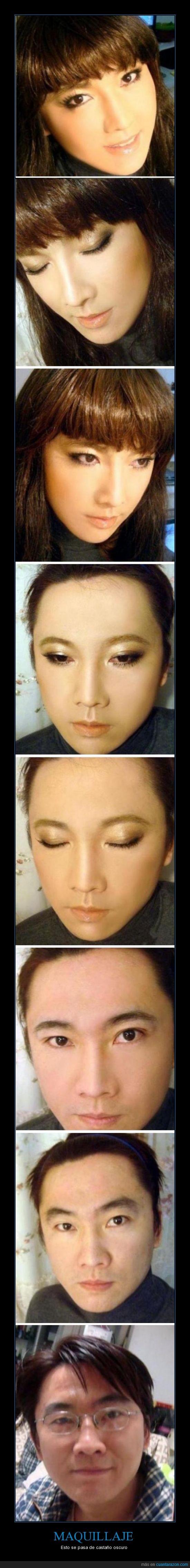 evolución,Japonés,Maquillaje