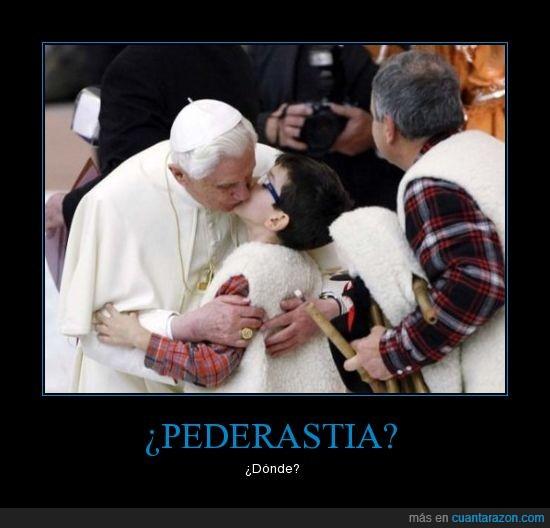 beso,niño,papa,pederasta