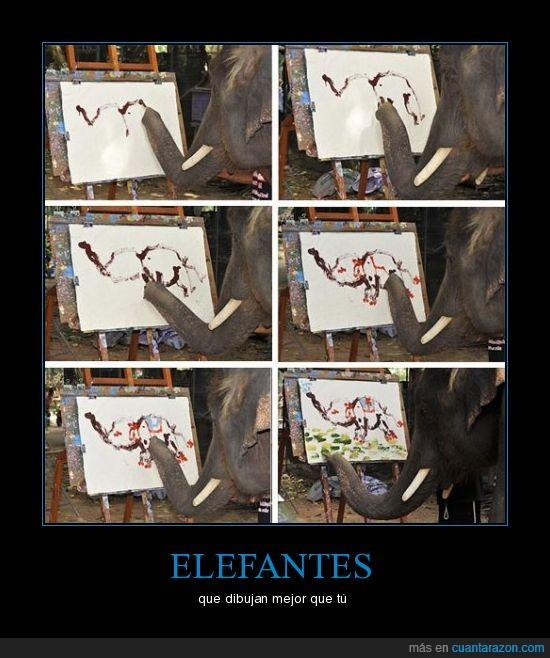 dibujo,elefante