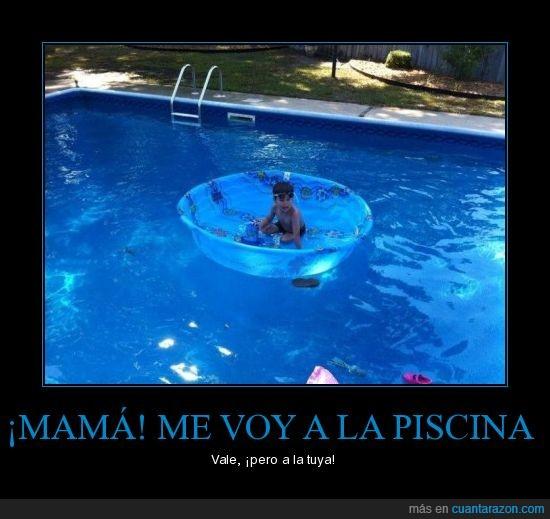 agua,niño,piscina