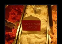 Enlace a Helado Yao Ming