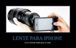 Enlace a LENTE PARA IPHONE