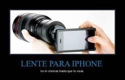 Enlace a LENTE PARA IPHONE