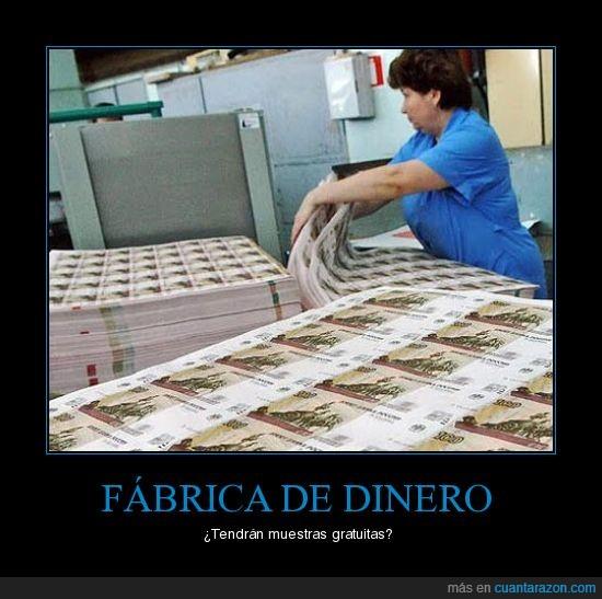 billetes,dinero,fabrica,ruso