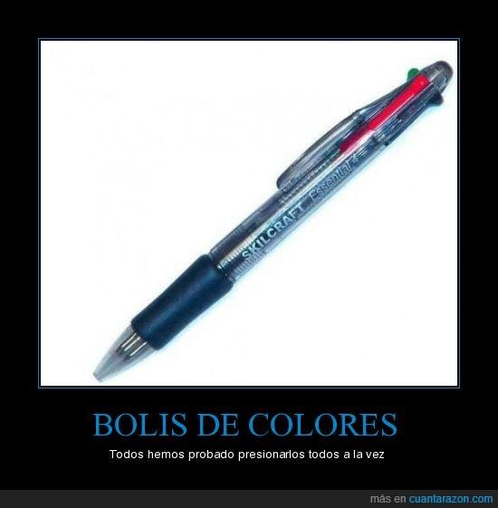 Boli,Realidad,varios colores