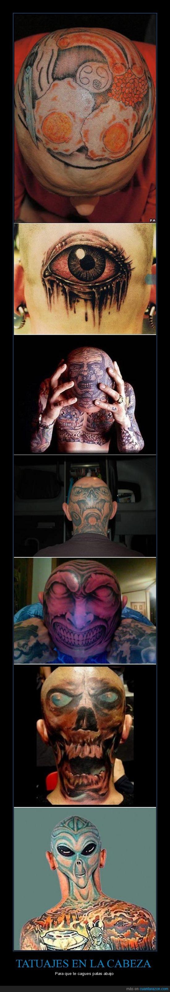 cabeza,calavera,calva,inquietante,ovni,tatoo,tatuaje