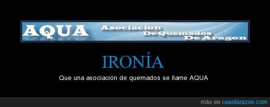 aragón,asociación,ironía,quemados