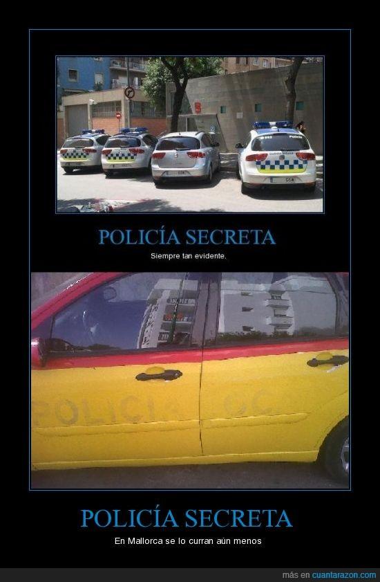 coche,Mallorca,pintar,policia Local