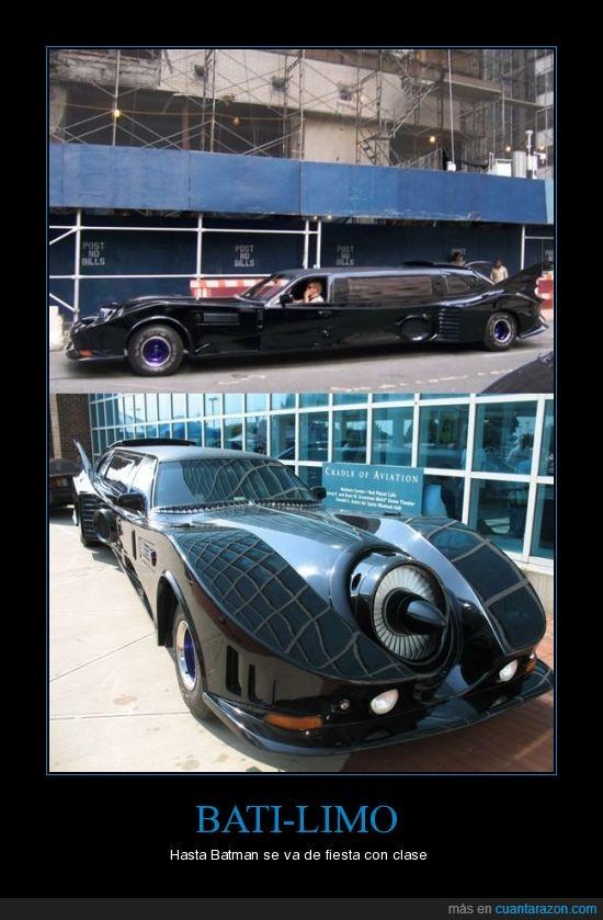 bat limo,batman,limousina