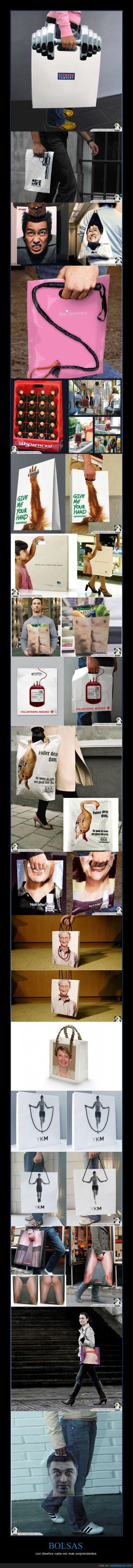 bolsas,diseños,levarlas en la calle