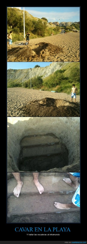 agujero,Arrigunaga,hallazgo,hoyo