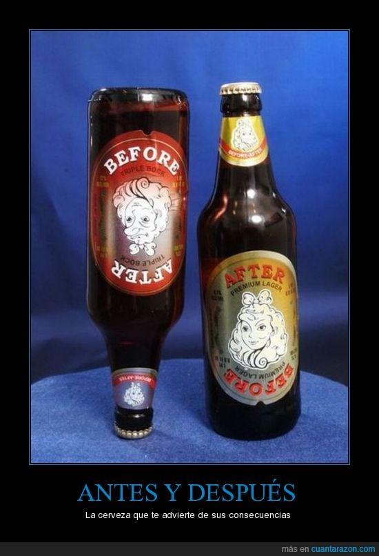 antes,borracho,cerveza,despues,orco