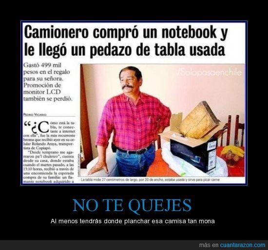 notebook,tabla