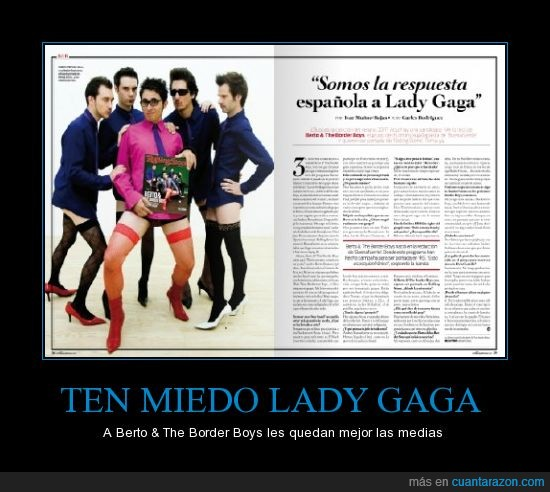 Berto,Border Boys,Lady Gaga,Me lo tiro
