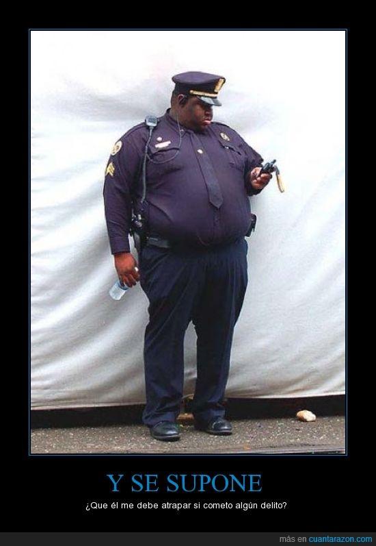 delito,gordo,obesidad,policia