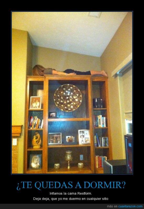 armario,dormir,planking